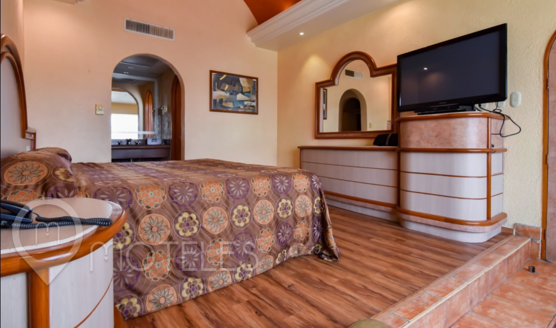 Habitacion Villa Sencilla con Aire del Motel Paraíso del Sur