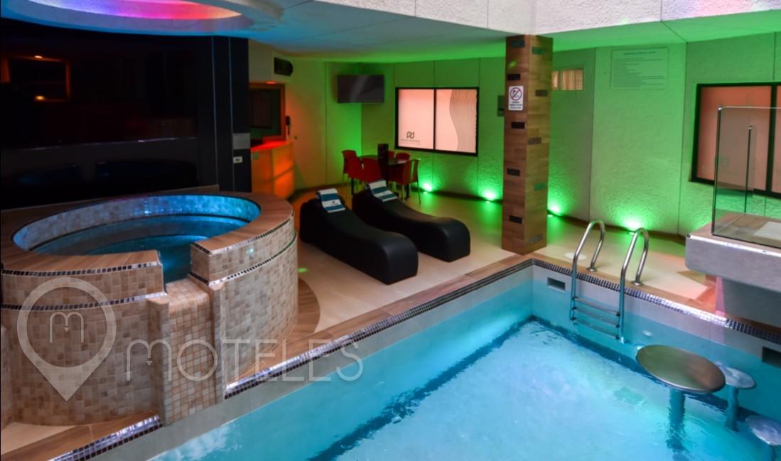 Habitacion Alberca Vip del Motel Pasadena Hotel & Villas