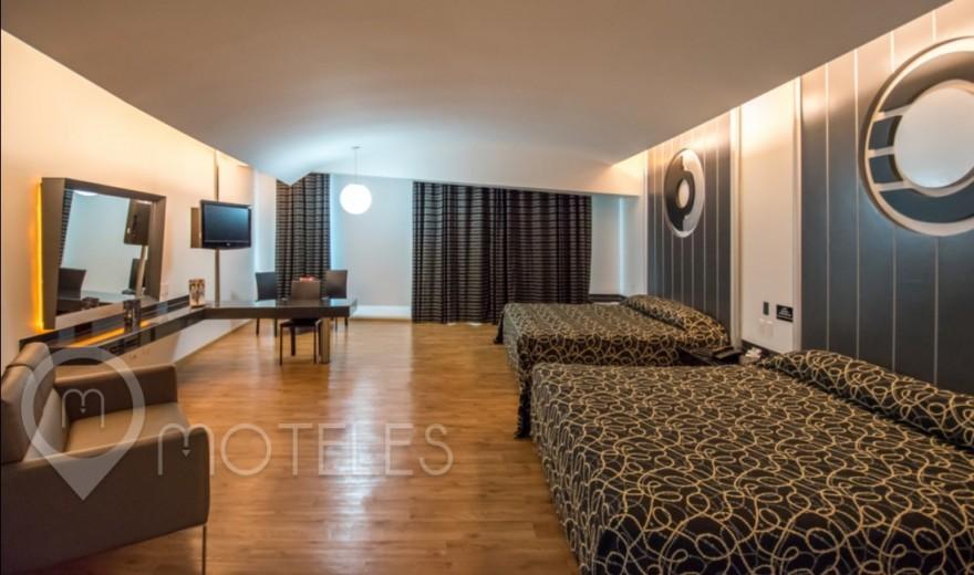Habitacion Torre Doble VIP del Motel Pasadena Hotel & Villas