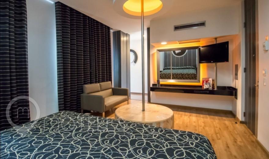 Habitacion Torre SPA del Motel Pasadena Hotel & Villas