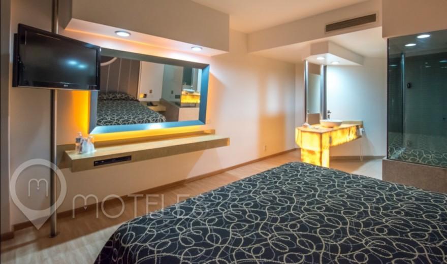 Habitacion Torre VIP del Motel Pasadena Hotel & Villas