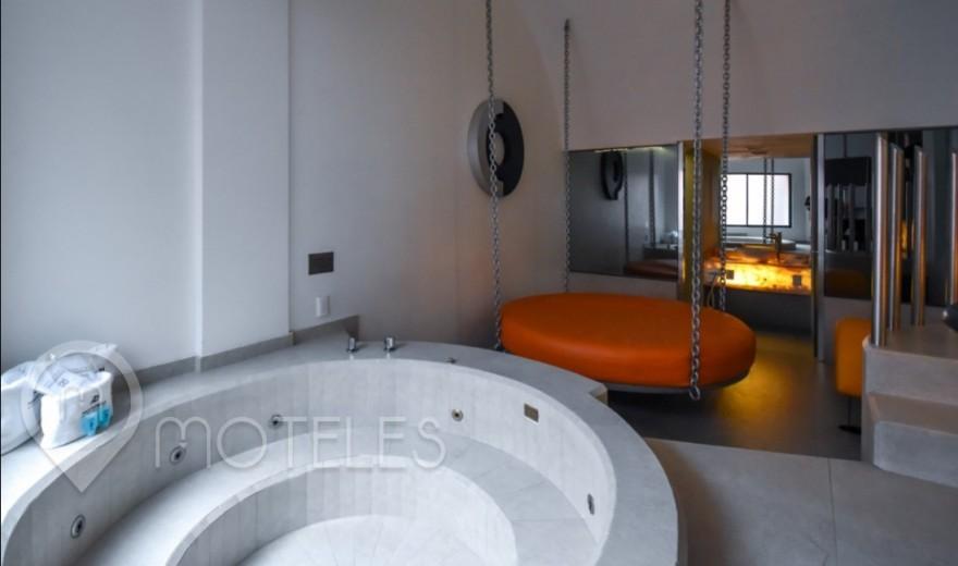 Habitacion Villa Jacuzzi VIP del Motel Pasadena Hotel & Villas