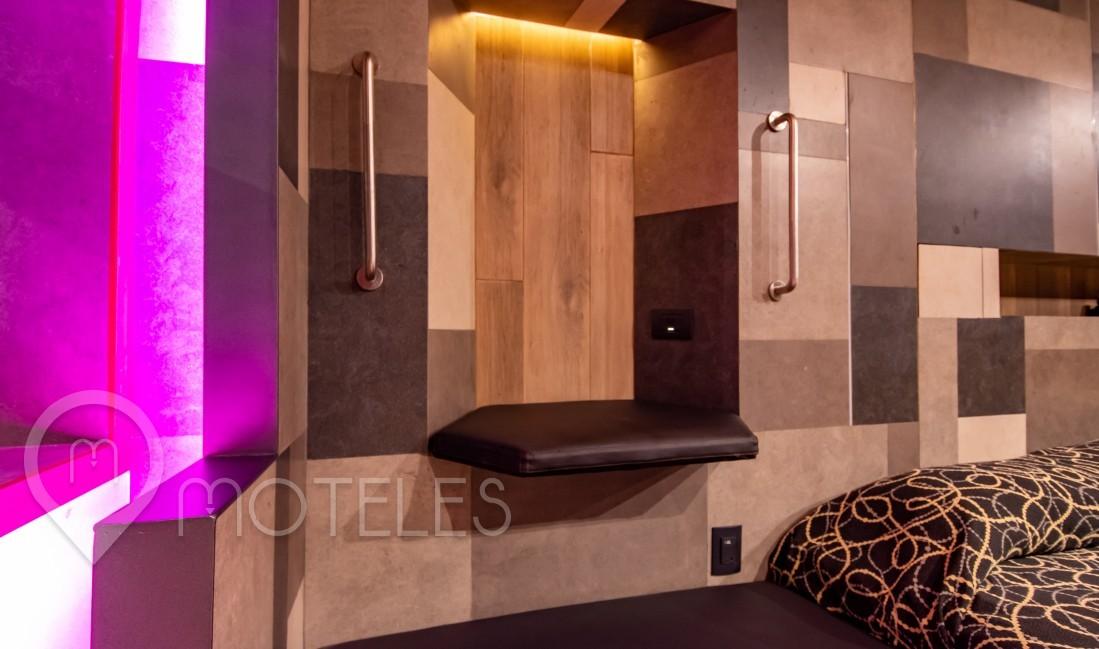 Habitacion Villa VIP remodelada  del Motel Pasadena Hotel & Villas