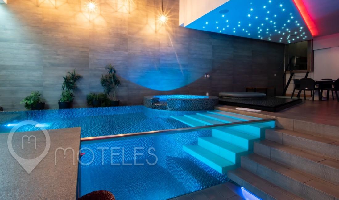Habitacion Villa Alberca del Motel Patriotismo Hotel & Villas