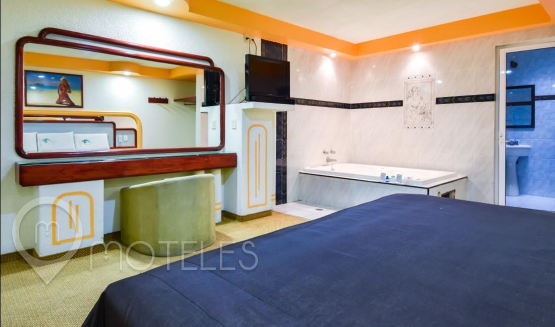 Habitacion Villa Jacuzzi del Motel Pegaso