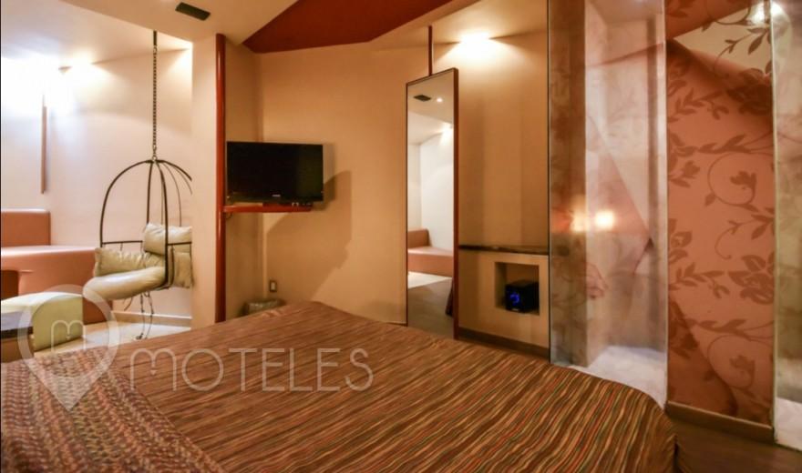 Habitacion Sencilla del Motel Pirámides del Valle