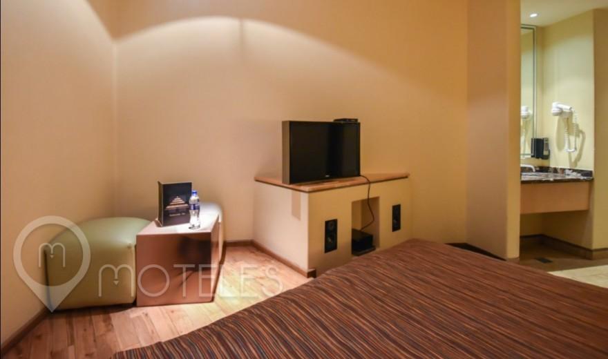 Habitacion Sencilla del Motel Pirámides Narvarte