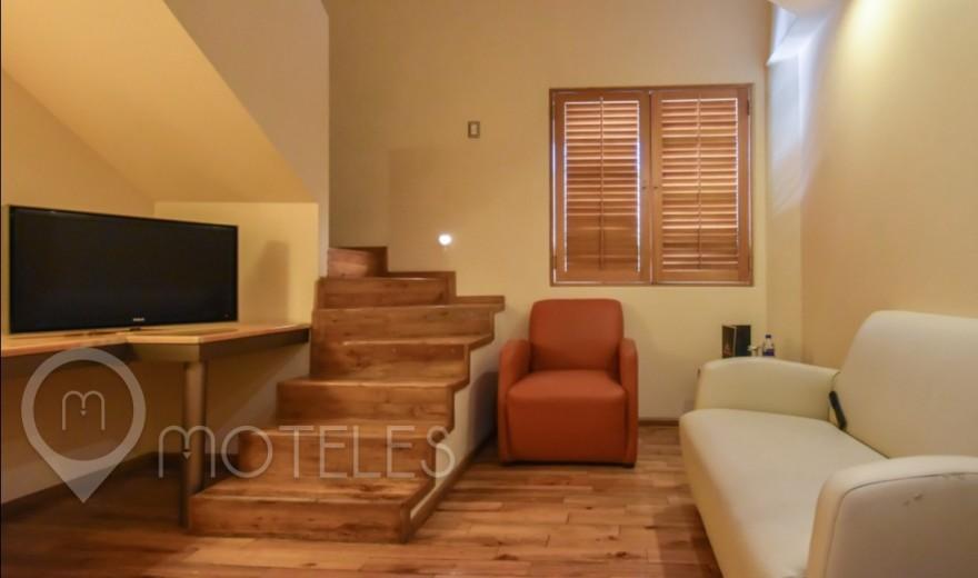 Habitacion Suite Ejecutiva del Motel Pirámides Narvarte