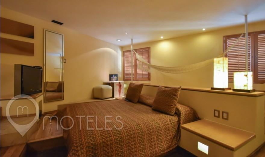 Habitacion Suite Motel - Hamaca del Motel Pirámides Narvarte