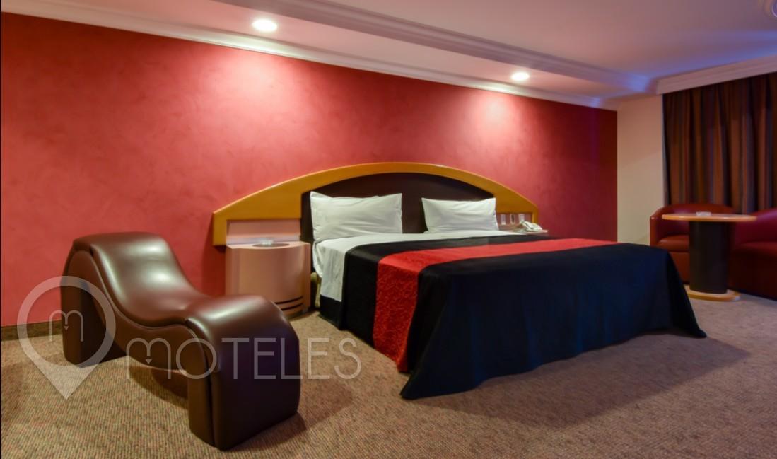 Habitacion Jacuzzi del Motel Plaza Belices