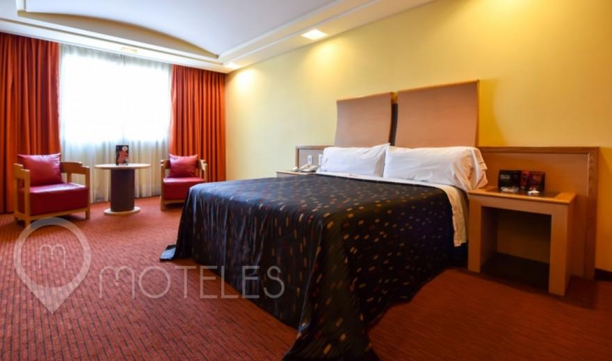 Habitacion Pole Suite  del Motel Plaza del Rey Hotel & Villas