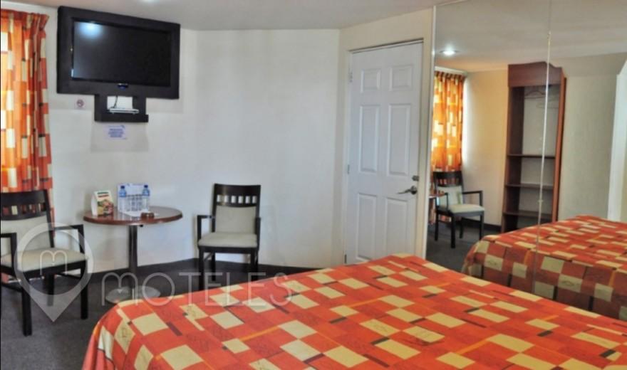 Habitacion Hotel Sencilla del Motel Plaza Delta