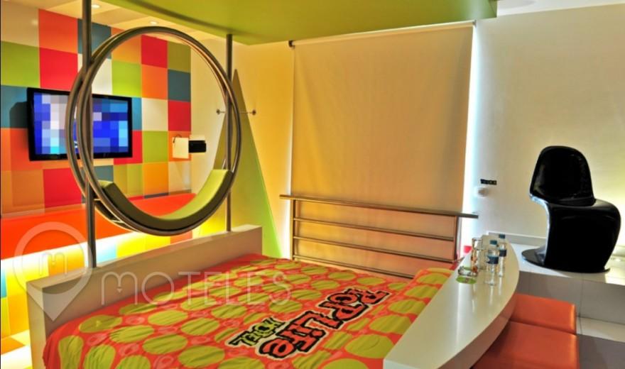 Habitacion Villa Sencilla del Motel Pop Life
