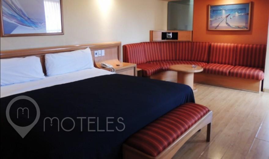 Habitacion  Suite Colchón de Agua del Motel Villa Pórticos