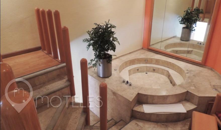 Habitacion Suite Jacuzzi del Motel Villa Pórticos