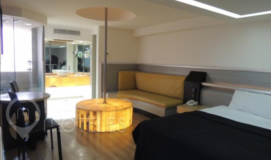 Habitacion Master Jacuzzi  del Motel Villa Pórticos