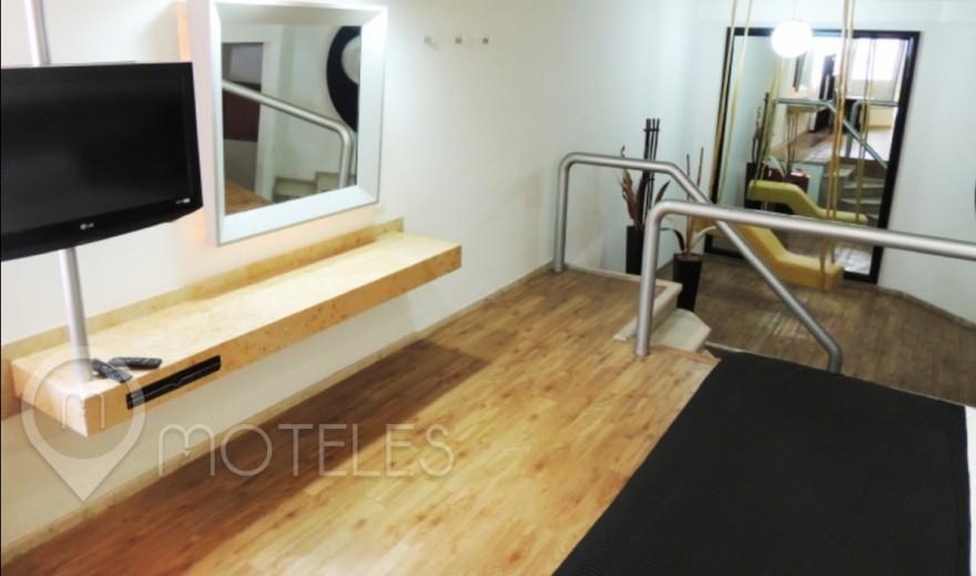 Habitacion Master Suite Potro Colgante del Motel Villa Pórticos