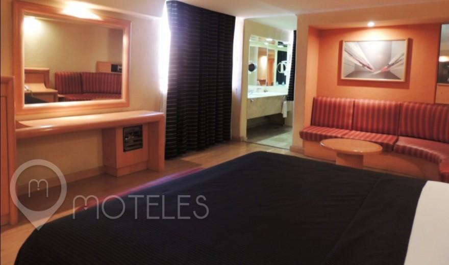 Habitacion Suite Sencilla del Motel Villa Pórticos