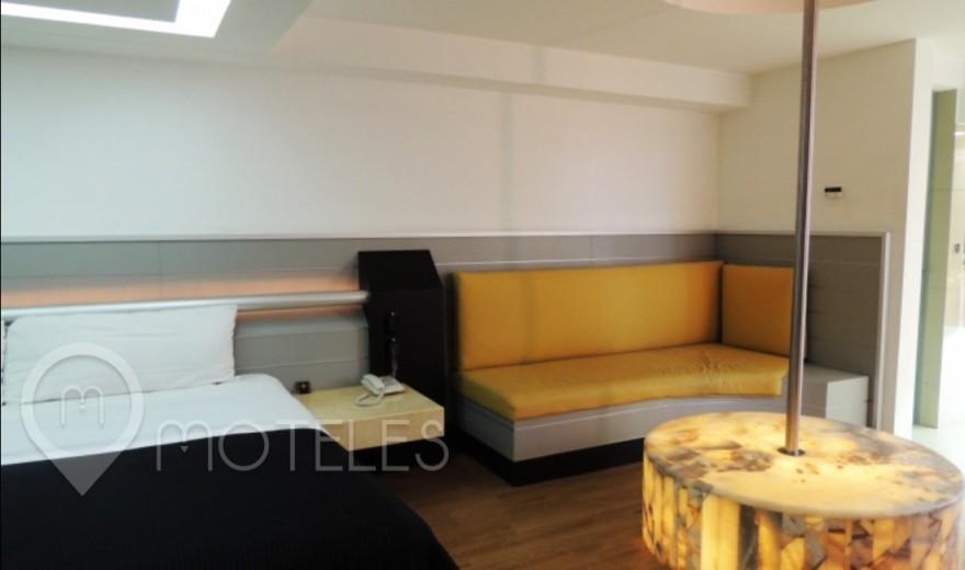 Habitacion Master Suite con Potro  del Motel Villa Pórticos