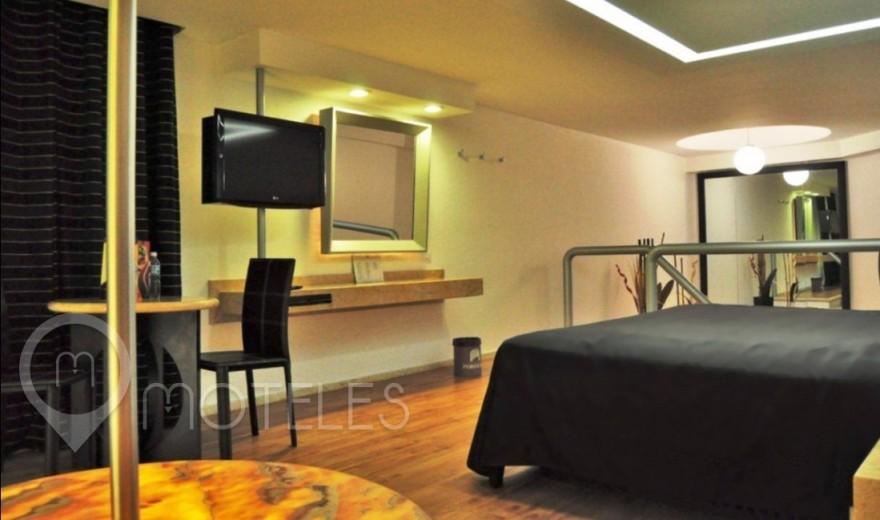Habitacion Master Suite con Privado del Motel Villa Pórticos