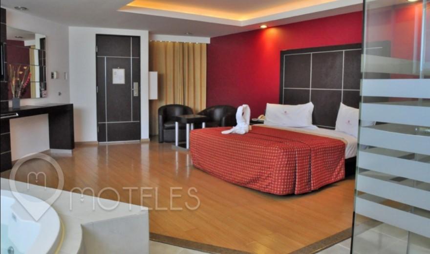 Habitacion Hotel Jacuzzi del Motel Porto Alegre Motel & Suites