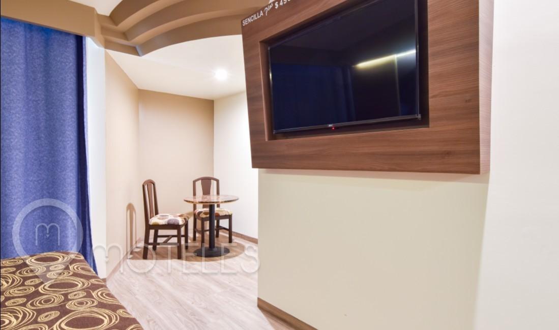 Habitacion Sencilla Plus del Motel Porto Sol Villas & Suites