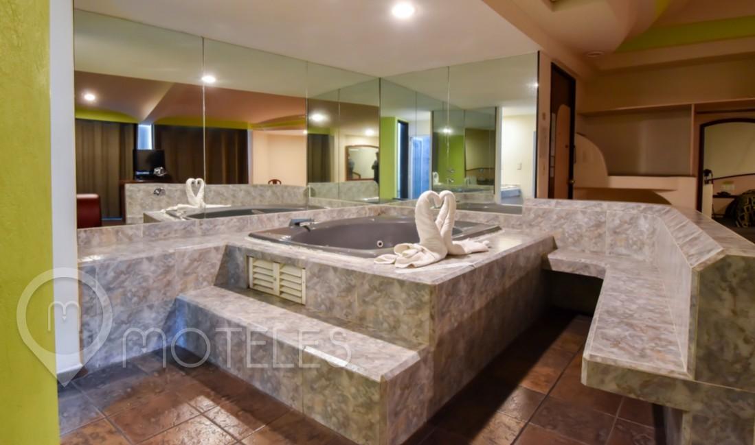 Habitacion Jacuzzi del Motel Porto Sol Villas & Suites