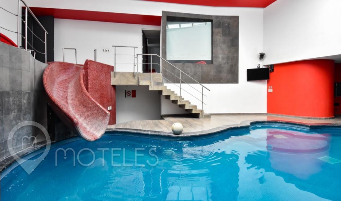 Habitacion Alberca del Motel Puente Grande Auto Hotel