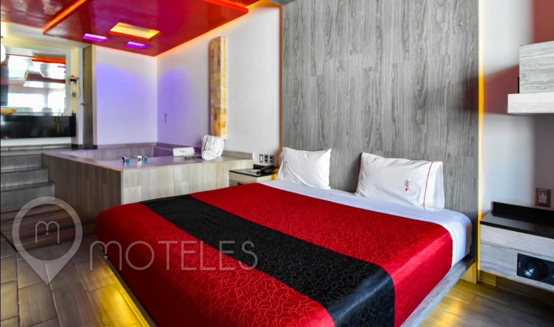 Habitacion Jacuzzi del Motel Puente Grande Auto Hotel