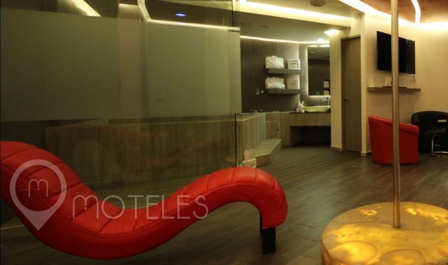 Habitacion Jacuzzi VIP del Motel Puente Grande Auto Hotel