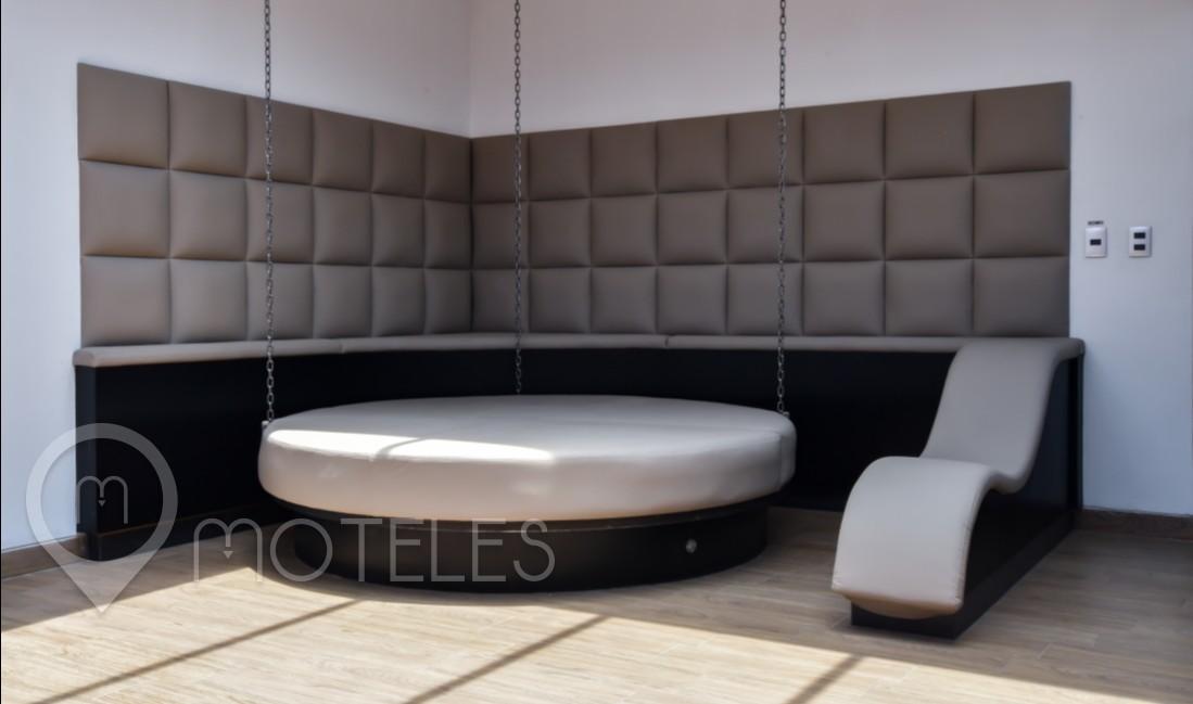 Habitacion Sky Dome Cubos del Amor  del Motel Punto G Elements