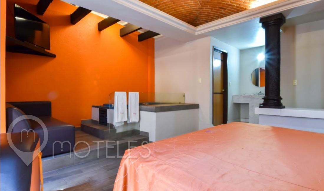 Habitacion Villa Jacuzzi del Motel Quetzalli Suites