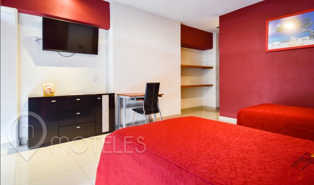 Habitacion Doble del Motel Quinta Tlalpan Hotel & Suites