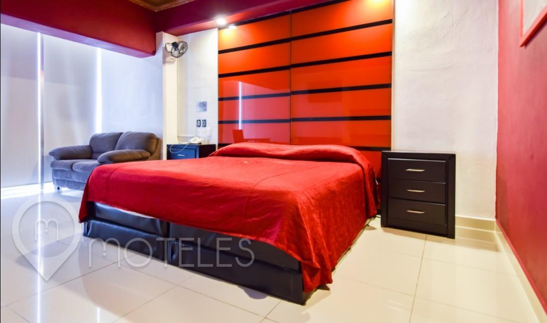 Habitacion King Size del Motel Quinta Tlalpan Hotel & Suites
