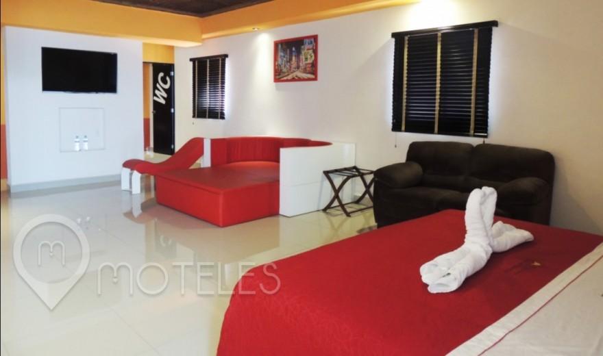 Habitacion Master del Motel Quinta Tlalpan Hotel & Suites