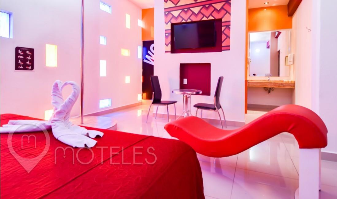 Habitacion Villa Jacuzzi del Motel Quinta Tlalpan Hotel & Suites