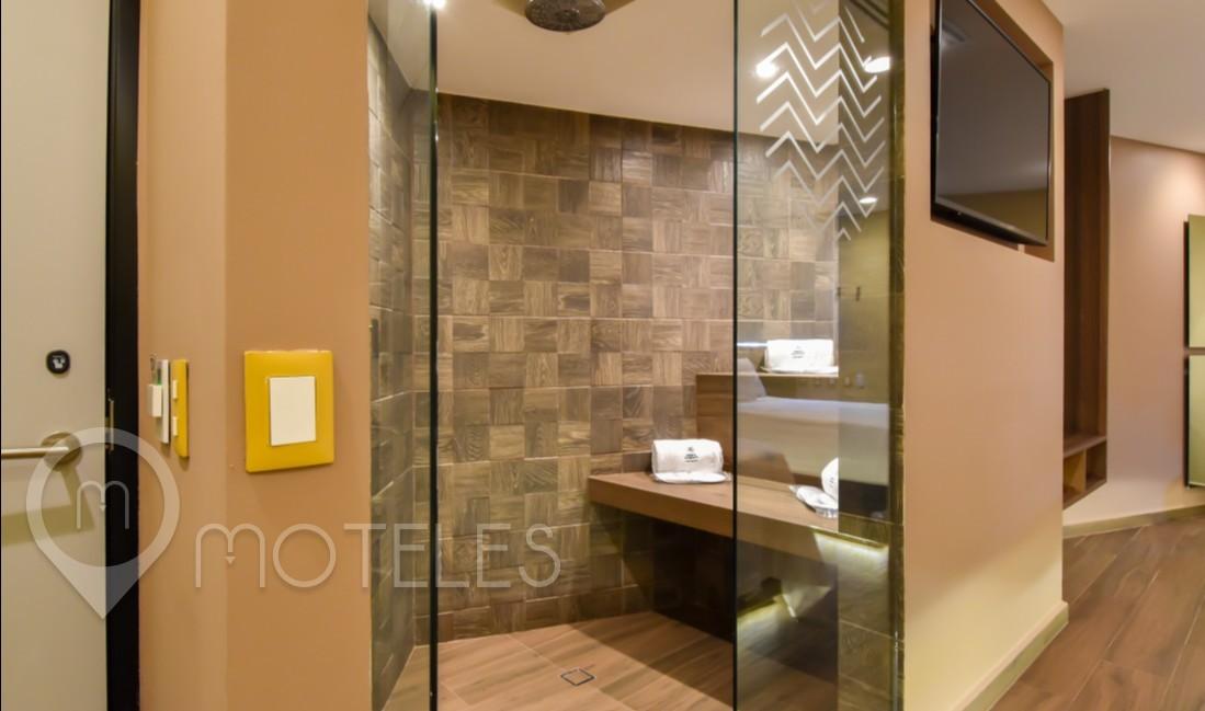 Habitacion Suite Doble  del Motel Quinto Elemento