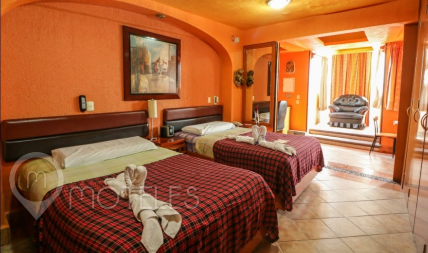 Habitacion Doble del Motel Villas & Suites Real Azteca