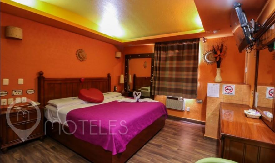 Habitacion Estándar del Motel Villas & Suites Real Azteca