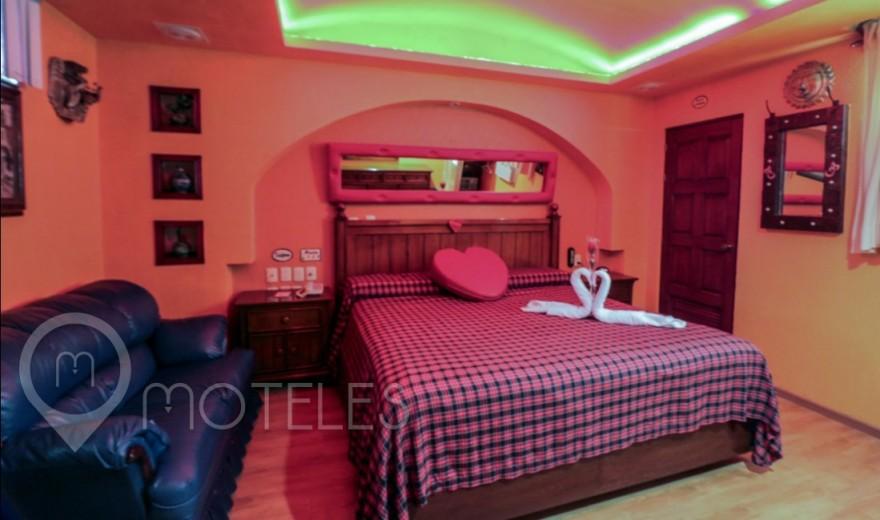 Habitacion Jacuzzi del Motel Villas & Suites Real Azteca