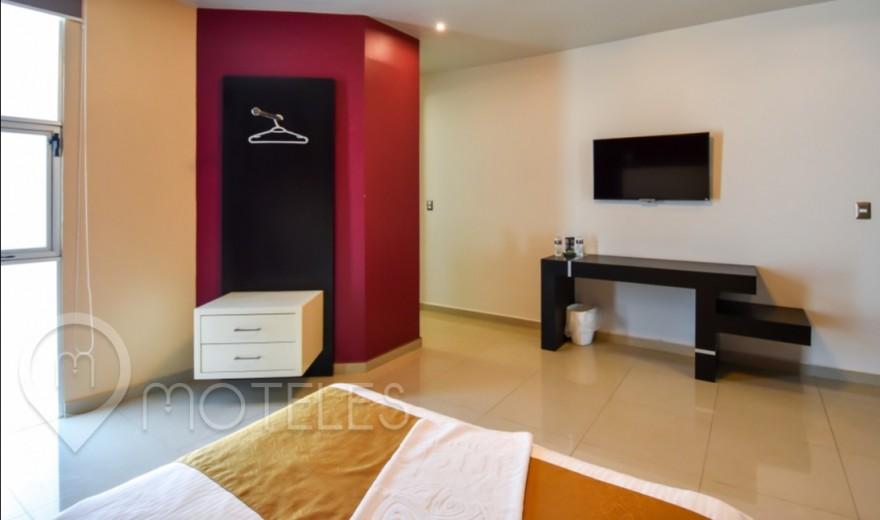 Habitacion Hotel Sencilla del Motel Red Mandala Hotel & Suites
