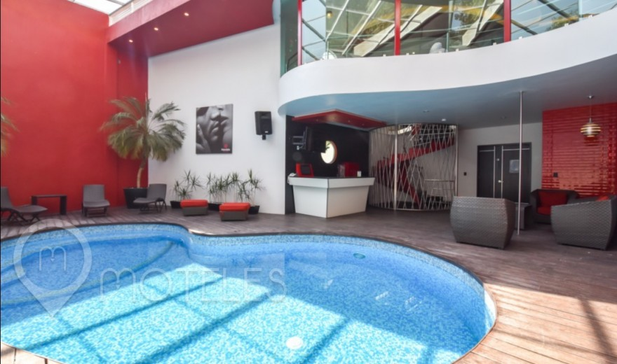Habitacion Pool Party del Motel Red Mandala Hotel & Suites