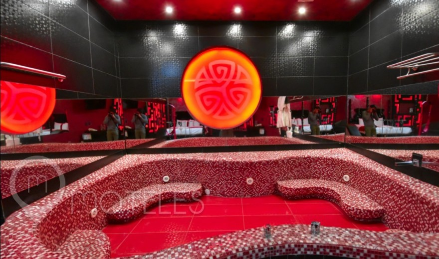 Habitacion Red Room del Motel Red Mandala Hotel & Suites