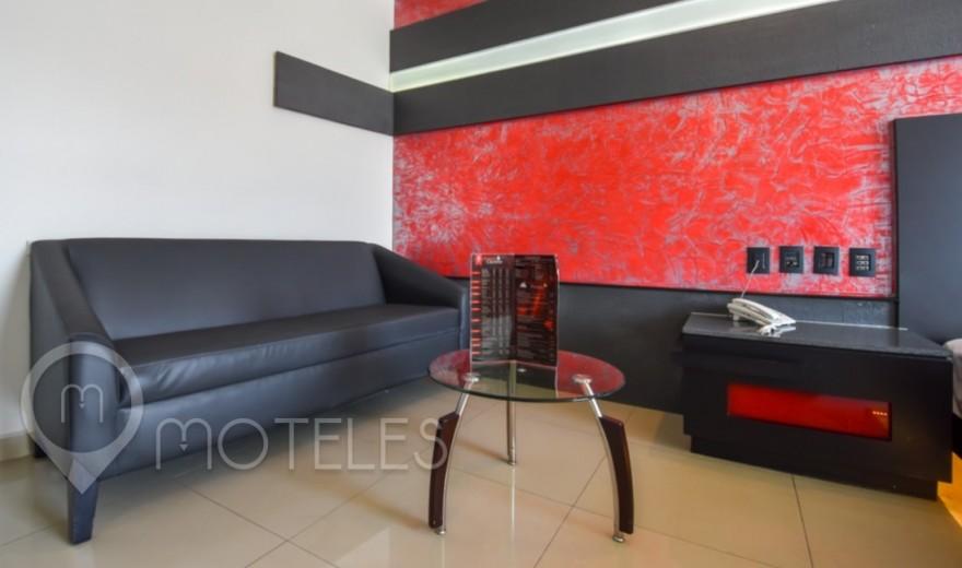 Habitacion Villa Agra del Motel Red Mandala Hotel & Suites
