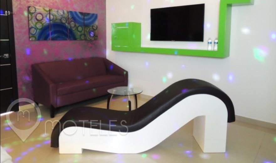 Habitacion Villa Amber del Motel Red Mandala Hotel & Suites