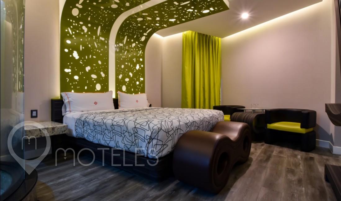 Habitacion Sencilla Motel  del Motel RomAmor
