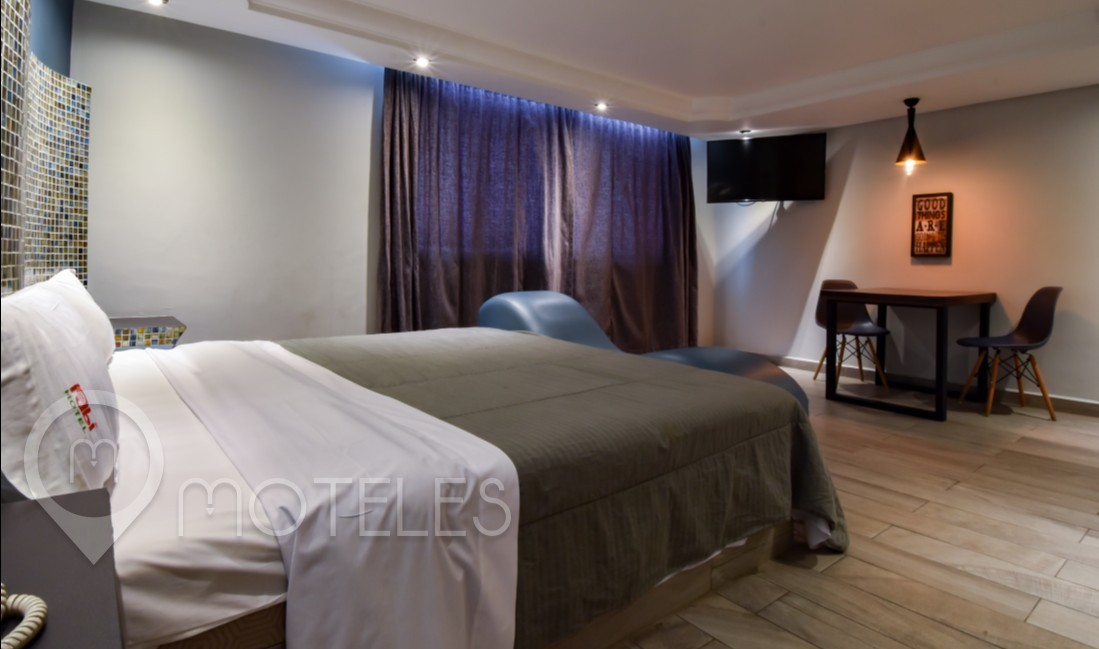 Habitacion Master del Motel Quinta Rubí
