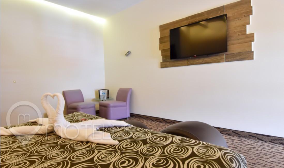 Habitacion Sencilla  del Motel Santiago