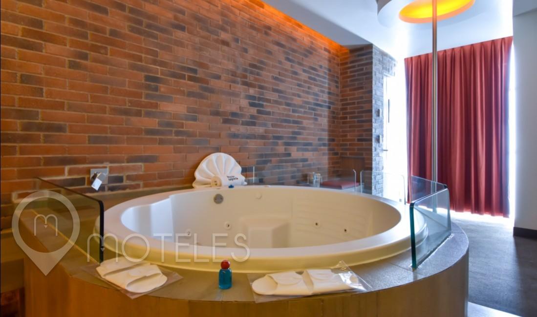 Habitacion Hotel Jacuzzi  del Motel Segredo