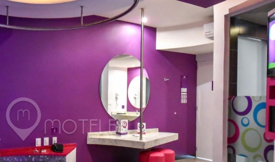 Habitacion Villa Jacuzzi del Motel Hotel y Villas Sfera